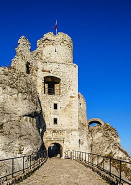Ogrodzieniec Castle, Podzamcze, Trail of Eagles' Nests, Krakow-Czestochowa Upland (Polish Jura), Silesian Voivodeship, Poland, Europe