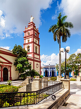 Our Lady of Candelaria Cathedral, Ignacio Agramonte Park, Camaguey, UNESCO World Heritage Site, Camaguey Province, Cuba, West Indies, Caribbean, Central America