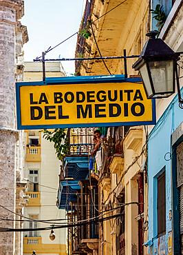 La Bodeguita del Medio, La Habana Vieja, Havana, La Habana Province, Cuba, West Indies, Caribbean, Central America