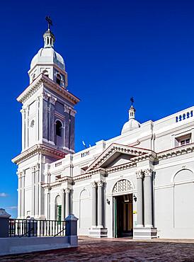 Nuestra Senora de la Asuncion Cathedral, Santiago de Cuba, Santiago de Cuba Province, Cuba, West Indies, Caribbean, Central America