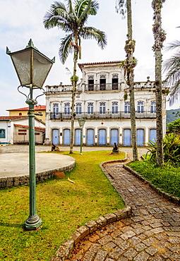 Colonial architecture, Ubatuba, State of Sao Paulo, Brazil, South America