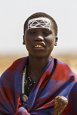 Maasai boy, Ngorongoro Conservation Area, Tanzania, East Africa, Africa - 1249-18