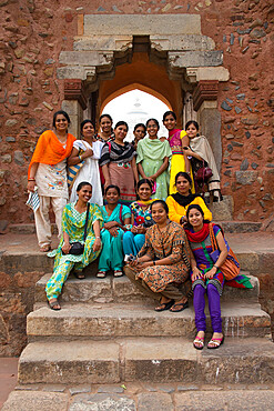 Group of Indian women, New Delhi, India