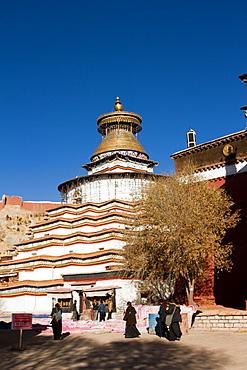 Palkhor Monastery, Gyantse, Tibet, China, Asia