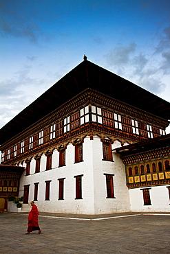 The Tashi Chho Dzong Fortress, Thimpu, Bhutan, Asia