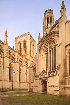 York Minster, York, North Yorkshire, England, United Kingdom, Europe