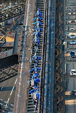 Sydney Bridge climb, Sydney, New South Wales, Australia, Pacific