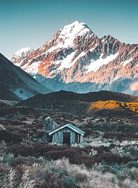 Hooker Valley Track, Mount Cook, Aoraki/Mount Cook National Park, UNESCO World Heritage Site, Southern Alps, South Island, New Zealand, Pacific