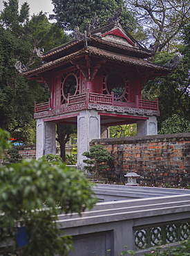 Temple of Literature, the Imperial Academy, Vietnam's first national university, Hanoi, Vietnam, Indochina, Southeast Asia, Asia