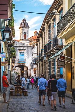 La Catedral de la Virgen Maria in La Habana Vieja, UNESCO World Heritage Site, Old Havana, Cuba, West Indies, Caribbean, Central America