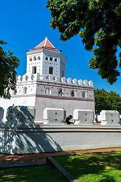 Phra Sumen Fort, Bangkok, Thailand, Southeast Asia, Asia
