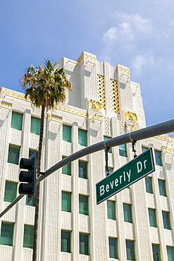 Beverly Drive, Beverly Hills, Los Angeles, California, United States of America, North America