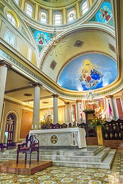 Interior of the Metropolitan Cathedral of San Jose, Costa Rica, Central America