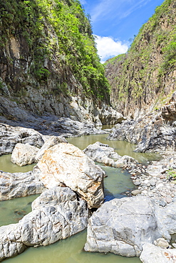 Inside the Somoto Canyon, Nicaragua, Central America