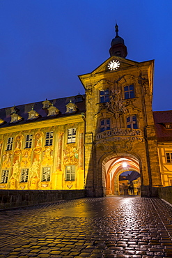 The old town hall of Bamberg, UNESCO World Heritage Site, Upper Franconia, Bavaria, Germany, Europe