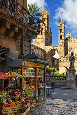 Palermo Cathedral, UNESCO World Heritage Site, Palermo, Sicily, Italy, Europe