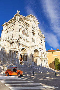 Saint Nicholas Cathedral in the old town (Monaco Ville), Monaco, Cote d'Azur, French Riviera, Mediterranean, Europe