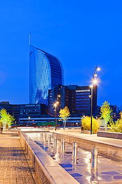 Paradiso Tower, Liege, Belgium, Europe