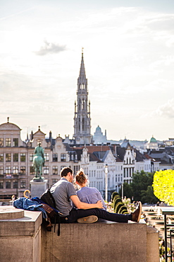 Mont des Arts, Brussels, Belgium, Europe