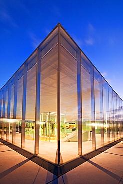 Louvre Lens Museum, Lens, Pas-de-Calais, France, Europe