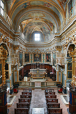 St. Lucia Church, Serra San Quirico, Ancona, Marche, Italy, Europe