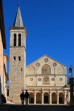 Cathedral of Santa Maria Assunta, Spoleto, Perugia, Umbria, Italy, Europe