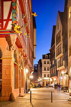New Old town, Frankfurt am Main, Hesse, Germany, Europe