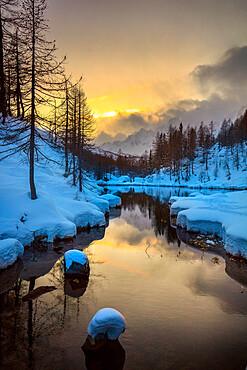 Lake of the Witches (Lago delle Streghe), Alpe Devero, Val d'Ossola, Verbano Cusio Ossola, Piemonte, Italy, Europe