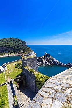 The Doria castle, Portovenere, Liguria, Italy, Europe