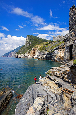 Cave of Byron, Portovenere, Liguria, Italy, Europe