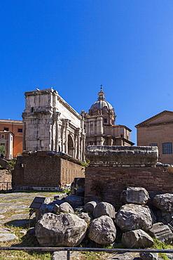 Fori Imperiali (Imperial Forum), UNESCO World Heritage Site, Rome, Lazio, Italy, Europe