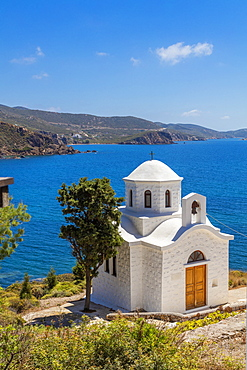 Kambos Beach, Patmos, Dodecanese, Greek Islands, Greece, Europe