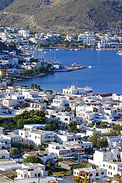 Skala, Isle of Patmos, Dodecanese, Greek Islands Greece, Europe