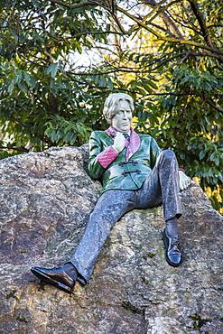 The Oscar Wilde Memorial, Dublin, Republic of Ireland, Europe
