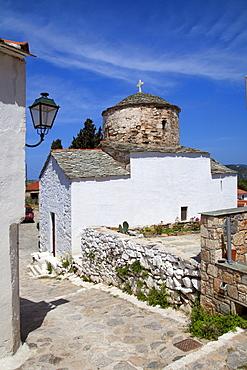Old village, Alonissos Island, Sporades, Greek Islands, Greece, Europe