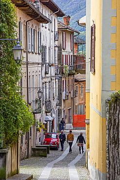 Via Poli, Orta San Giulio, Piemonte (Piedmont), Italy, Europe