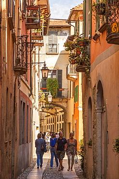 Via Giovannetti, Orta San Giulio, Piemonte (Piedmont), Italy, Europe