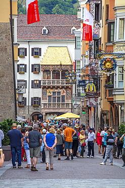 The Golden Roof, Innsbruck, Tyrol, Austria, Europe