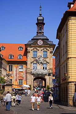 Old town hall, Bamberg, UNESCO World Heritage Site, Bavaria, Germany, Europe