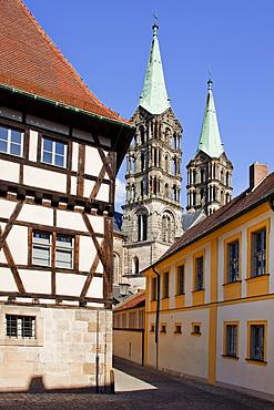 Bamberg Cathedral, Bamberg, UNESCO World Heritage Site, Bavaria, Germany, Europe