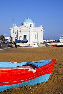 The port, Mykonos, Cyclades, South Aegean, Greek Islands, Greece, Europe