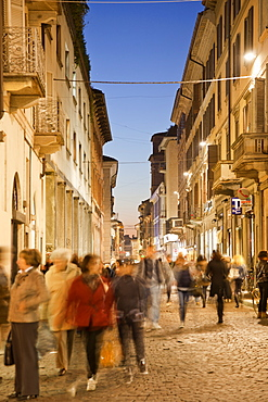 Corso Cavour, Pavia Cathedral, Pavia, Lombardy, Italy, EuropeEurope