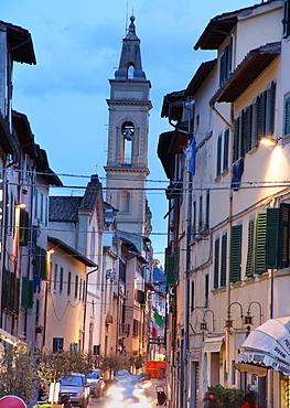 Via Isidoro del Lungo, Montevarchi, Tuscany, Italy, Europe