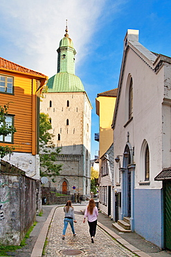 Cathedral, Bergen, Norway, Scandinavia, Europe