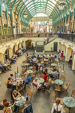 The interior of Covent Garden Market in Covent Garden, London, England, United Kingdom, Europe