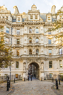 Temple Inn in Holborn, London, England, United Kingdom, Europe
