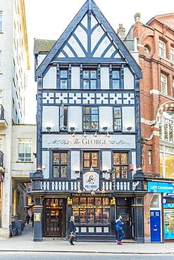 The George pub in Holborn, London, England, United Kingdom, Europe.