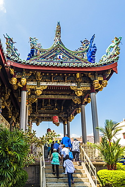 The Khoo Kongsi clan temple, George Town, UNESCO World Heritage Site, Penang Island, Malaysia, Southeast Asia, Asia