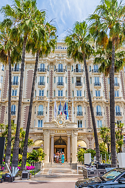 Carlton Hotel in Cannes, Alpes Maritimes, Cote d'Azur, Provence, French Riviera, France, Mediterranean, Europe