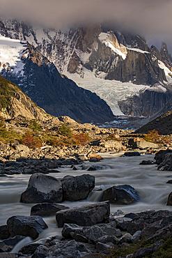 Rio Fitz Roy river, El Chalten, Santa Cruz Province, Patagonia, Argentina, South America